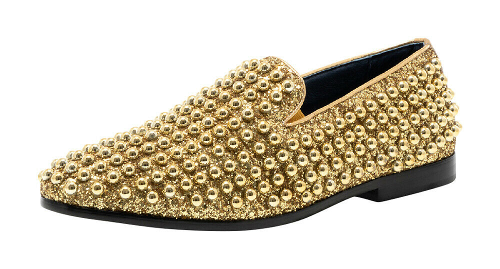 Jump Newyork Luxor-ii Pearl Shaped Ornamented Upper Casual/Dress Loafers for Men