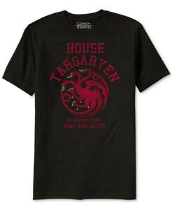 Ripple-Junction-Mens-T-Shirt-Black-Size-XL-Game-Of-Thrones-Graphic-Tee-20-076