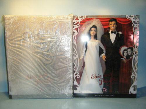 BARBIE ELVIS /& PRISCILLA WEDDING GIFT SET *NEW* IN FACTORY TISSUE