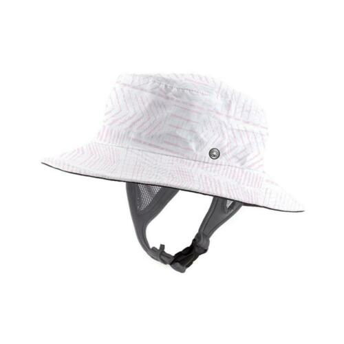 Ocean /& Earth Ladies 59cm Bingin Soft Peak Surf Watersports Hat In Pink//W