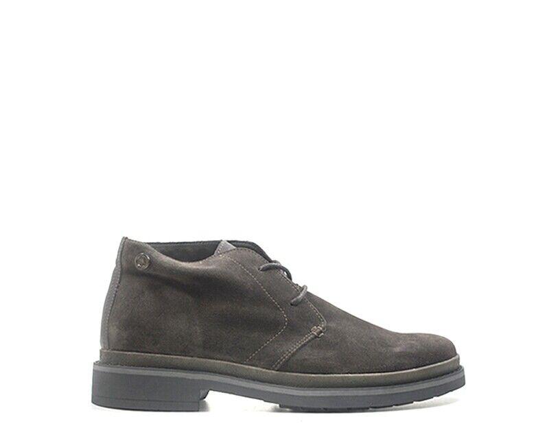 Schuhe U.S. POLO ASSN. Mann braun Wildleder  YANN4044W8-DKBR