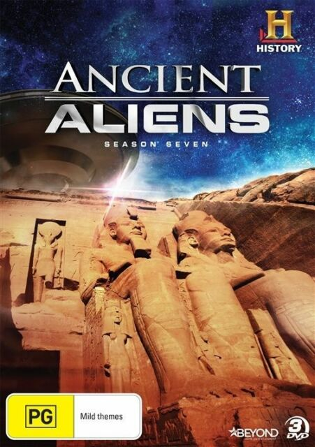 Ancient Aliens : Season 7 (DVD, 2016, 3-Disc Set) Brand New Sealed
