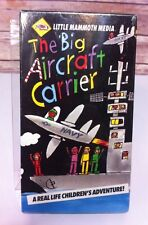 The Big Aircraft Carrier VHS A real life children's adventure Educational Tape