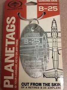 North-American-B-25-Mitchell-Plane-Tag-Planetags-Free-Shipping