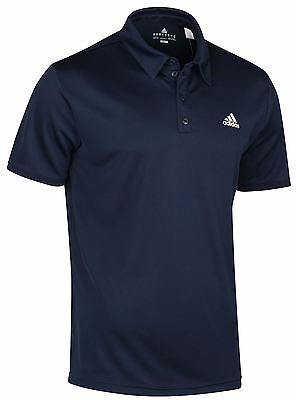 Mens adidas Navy Polo Shirt X22137~SIZE SMALL ONLY~CLEARANCE PRICE~C8
