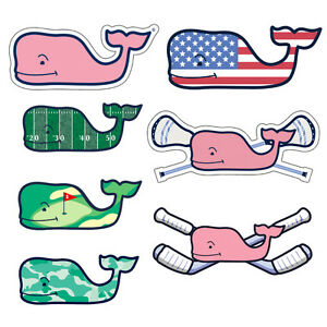 Authentic Vineyard Vines Seasonal Sports Preppy Vinyl