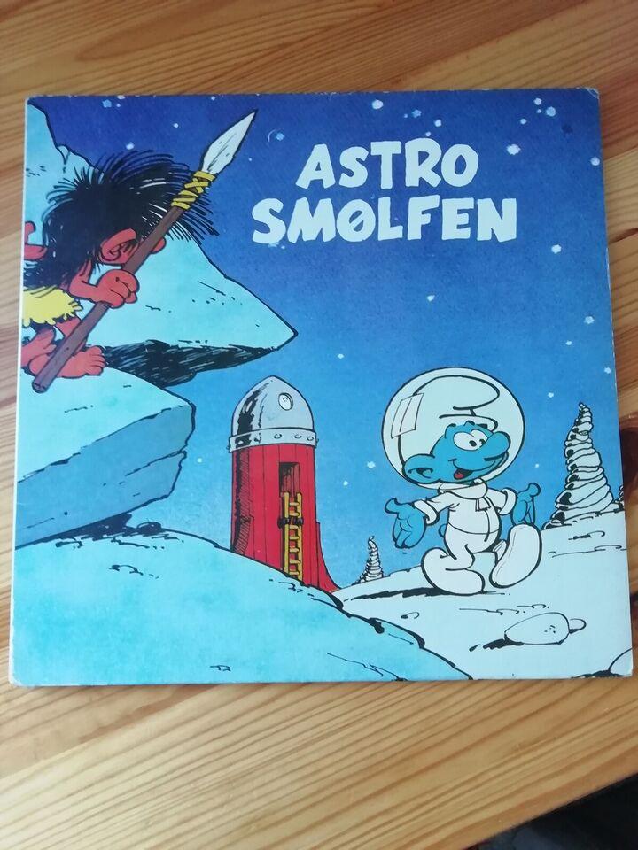 LP, Børneplade, Astro Smølfen