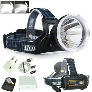 BORUiT-Micro-USB-Headlamp-Headlight-Flashlight-XM-L-L2-LED-Digital-Hunting-CHZ