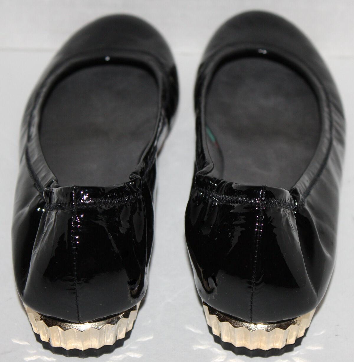 EUC Womens Stuart Weitzman Black Patent Patent Patent shoes Size 8.5 00a2a7
