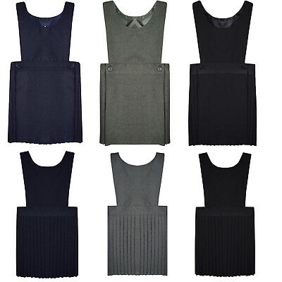 THREADWEAR Girls Bib Pinafore School Uniform