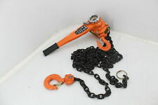 New Listingsee Notes Happybuy Manual Lever 3300 Lb 20 Ft Ratchet Chain Hoist 15 Ton Puller