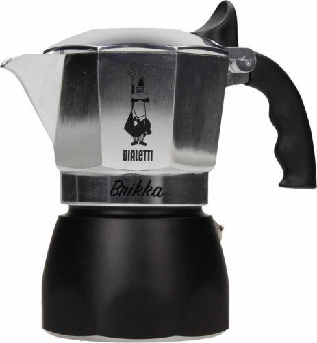 Caffettiera  4 tz Bialetti nuova Brikka moka caffè caffe espresso bar mshop
