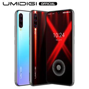 UMIDIGI X Smartphone Portable Débloqué 4G Empreinte Digitale à l'écran Téléphone