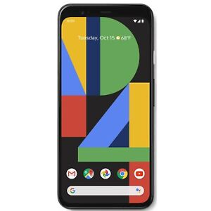 Google Pixel 4 XL 64GB Just Black/ Clearly White Unlocked 6.3