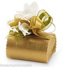 Geschenkschachtel gold 60x60x40 mm ✿ Bonbon ✿ Gift Box Boîte CADEAU