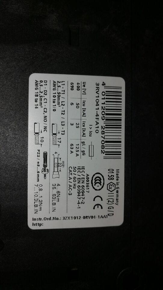 Motorværn, Siemens