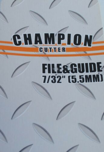 File kit 7//32 Champion Cutter CC-0255C  Comfortable handle file included
