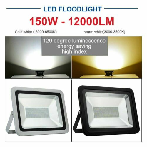 LED Fluter Flutlicht Scheinwerfer Außenstrahler Gartenstrahler IP65 10W-1000W DE