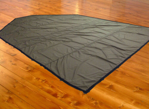 12 x 20 CORDURA Boat Tarp, Tapered End, DRings on all sides, LIGHTWEIGHT!