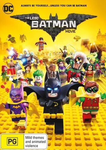 1 of 1 - The LEGO Batman Movie (DVD, 2017) : NEW