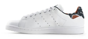 Dettagli su A ADIDAS STAN SMITH W Sneaker donna bianca in pelle fantasia 42  2\3 EU 8.5 UK