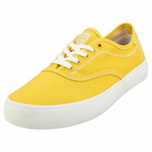 Element Passiph Mens Yellow Skate Trainers - 11 Uk