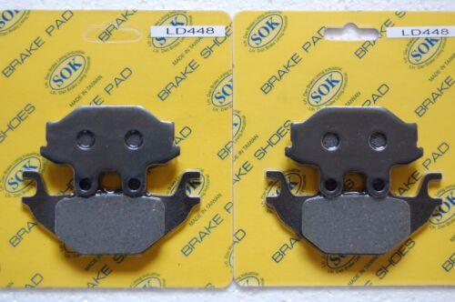 FRONT/&REAR BRAKE PADS ARCTIC CAT 2006-2014 DVX 250 300 Sport DVX250 DVX300