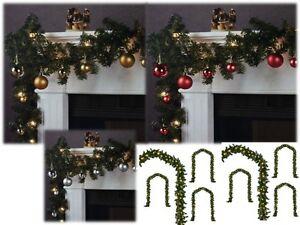 Immagini Di Ghirlande Di Natale.Ghirlanda Di Natale Addobbi Natalizi Catena Luminosa 2 70mt Decorazioni Natale Ebay