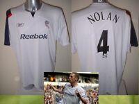 Bolton Wanderers NOLAN Adult XL Vintage Reebok Shirt Jersey Football Soccer Top