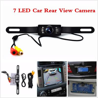 Waterproof Cmos 7 LED Car Rear View Reverse Backup Parking Camera Night Vision