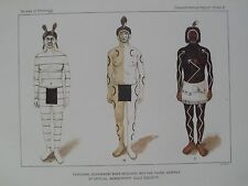 Zia Indian Pueblo New Mexico Body Adornment Into Cult Society 1894