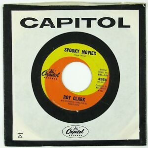 ROY-CLARK-Spooky-Movies-Tips-Of-My-Fingers-7IN-1963-ROCKABILLY-NM