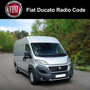 fiat ducato radio code stereo decode car unlock fast. Black Bedroom Furniture Sets. Home Design Ideas
