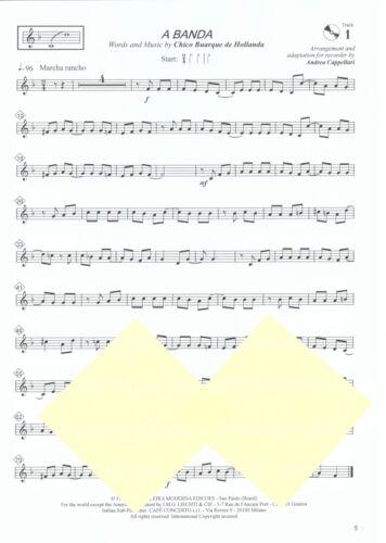 Blockflöte Noten : ANTHOLOGY mit CD lei leMittel 30 all time favorites