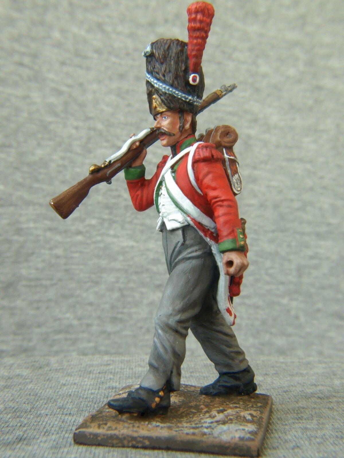 La élite élite élite de San Petersburgo  los soldados de Napoleón. 672