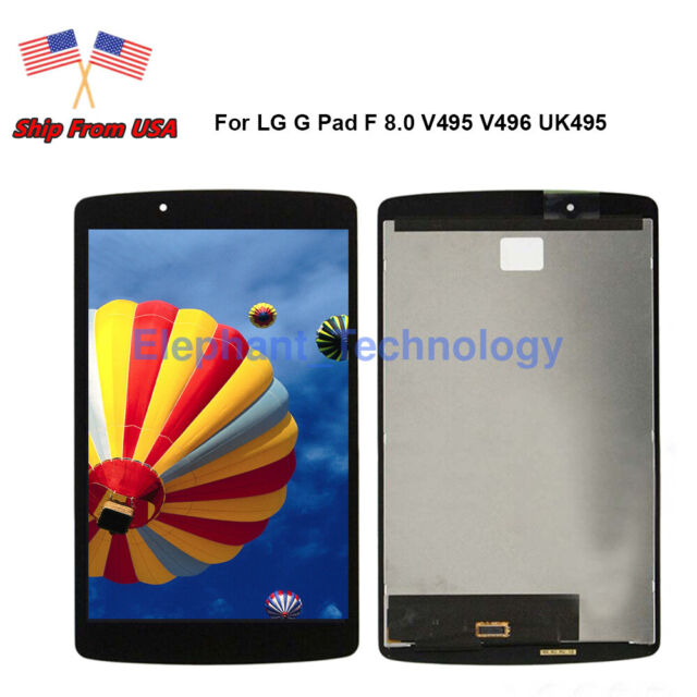 Frame CA Touch Digitizer LCD Screen Assembly For LG G Pad F 8.0 V496 V495 AT/&T