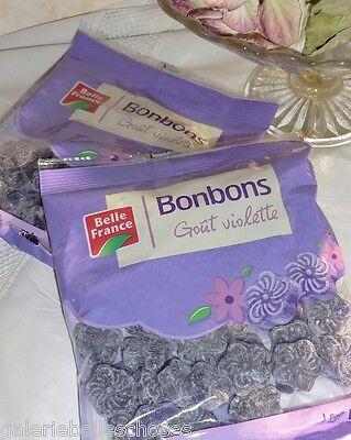 2x 150 g Veilchen Bonbons Violette Lutschbonbon Drops Frankreich Belle France