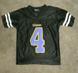 Details about OFFICIAL NFL MINNESOTA VIKINGS #4 FAVRE YOUTH JERSEY SIZE MEDIUM 10-12