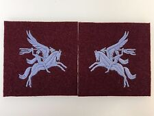 Britain/British Army WWII Airborne Pegasus patches (matched pair)