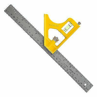 """METAL ENGINEERS COMBINATION CAST SQUARE WITH SCRIBER 246028 STANLEY 12/"""" 305MM"""