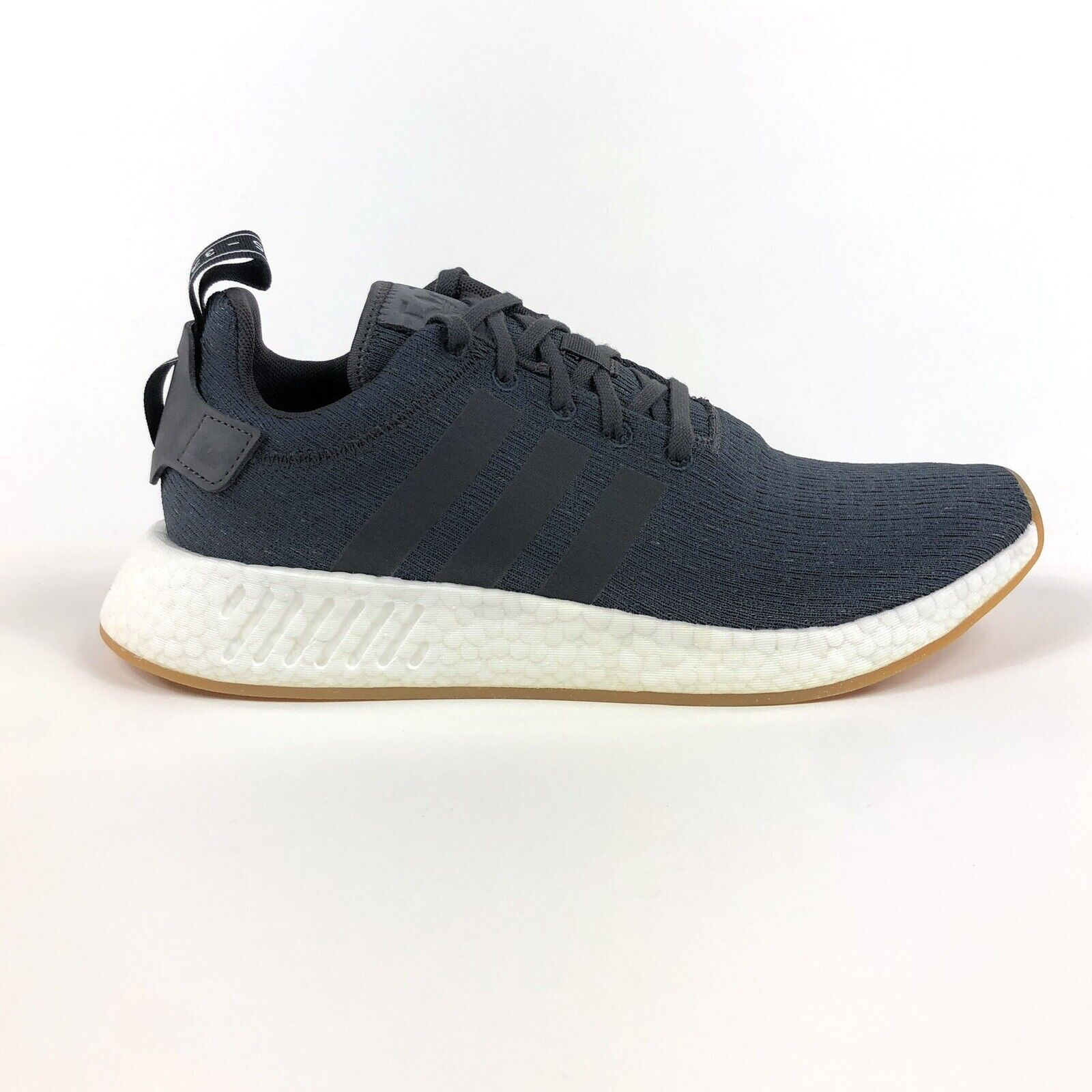 Size 8.5 - adidas NMD R2 Grey Five 2017