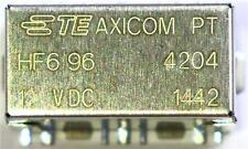 Axicom PT HF6 96 RF Relay, Frequency DC to 6GHz, SPCO 50Ω Bistable 12V Radio Ham