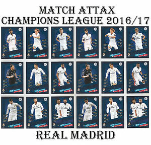 REAL-MADRID-Match-Attax-Champions-League-2017-card-s-2016-17