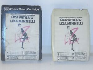 Vintage 8 Track Cassette Cartridge Eight Liza minnelli with a z