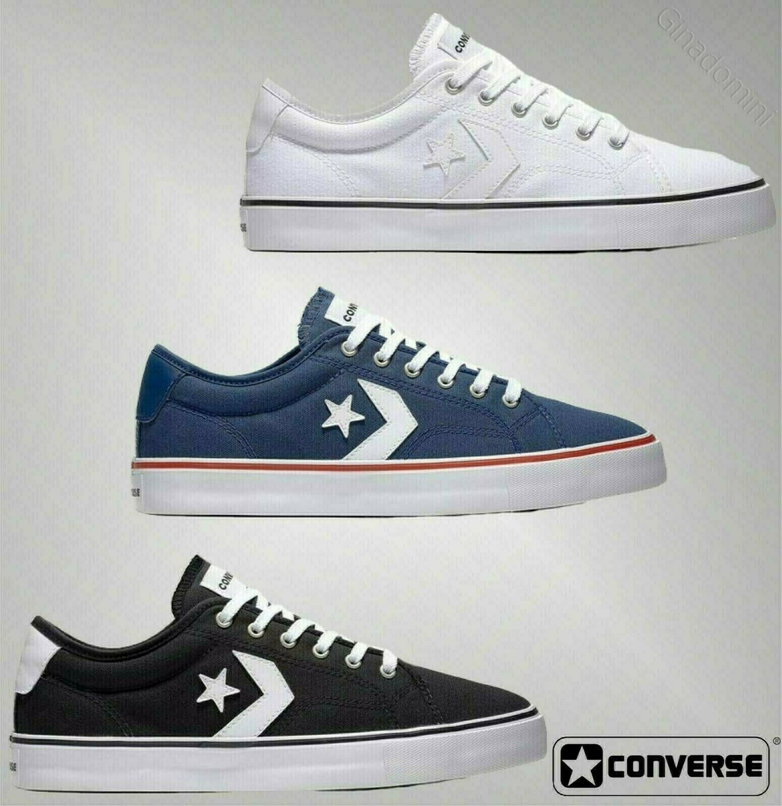 Mens Converse Thick Rubber Sole Logo Ox Replay Trainers Footwear Sizes UK 6-12