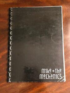 Mike-And-The-Mechanics-Concert-Tour-Crew-Itinerary-1986-Rare-Music-Memorabilia