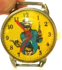 SUPER RARE!! LONE RANGER CHILD'S TOY WATCH