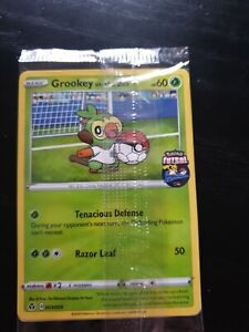 Pokemon Tcg England Futsal Grookey On The Ball 003 005 New Sealed Uk Exclusive Ebay Pokédex entry for #810 grookey containing stats, moves learned, evolution chain, location and more! usd