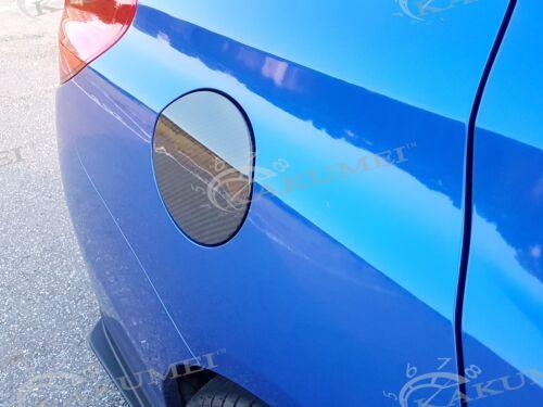 Dry Carbon Fuel Gate Tank Cap Cover CF Fit 2015 2016 2017 2018 Subaru WRX STI