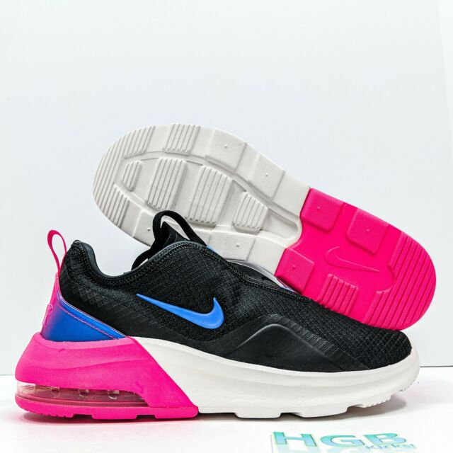 Nike Women's Size 7 Air Max Motion 2 Cn2166 001 Black/pink Running Shoes